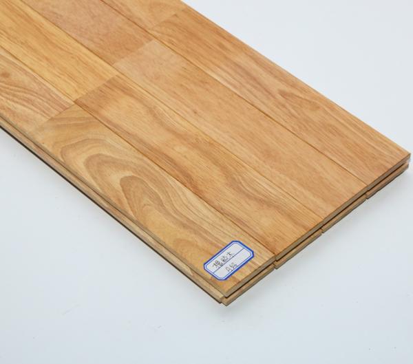 天津橡胶木指接地板